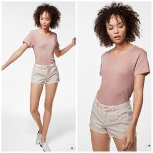 J Brand | NWT Blush Colored Jean Shorts